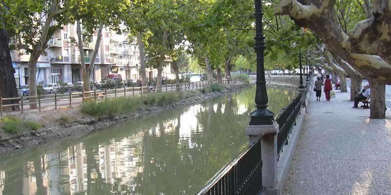 Canal Imperial de Zaragoza en Torrero
