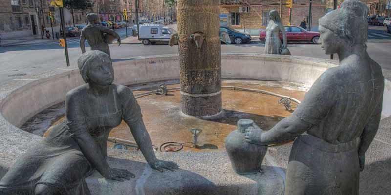 Plaza de las fuentes de Zaragoza